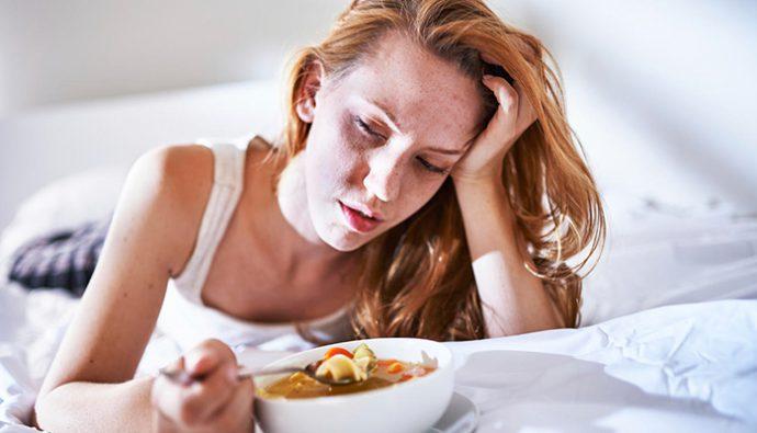 5 alimentos que debes evitar cuando estas enfermo