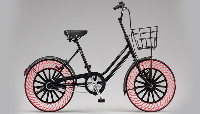 Bridgestone anuncia ruedas de bicicleta sin necesidad de aire