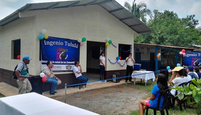 Ingenio Tululá inauguró nuevo centro de salud en Retalhuleu