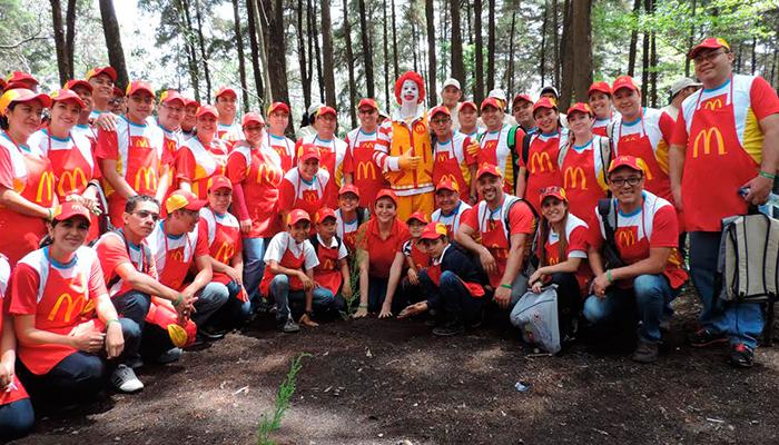 McDonald's sembró 7000 árboles para conmemorar el Día del Medio Ambiente