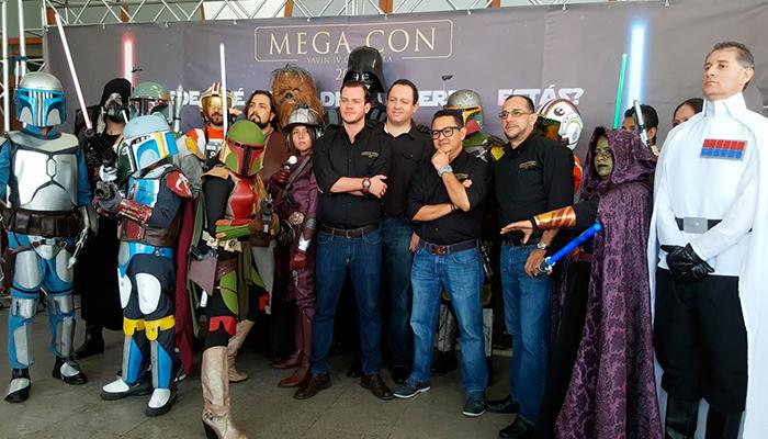 Detalles de la MegaCon 2017 en Guatemala, julio 2017