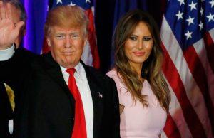 Video: Melania Trump le hace un desplante a Donald Trump en Israel
