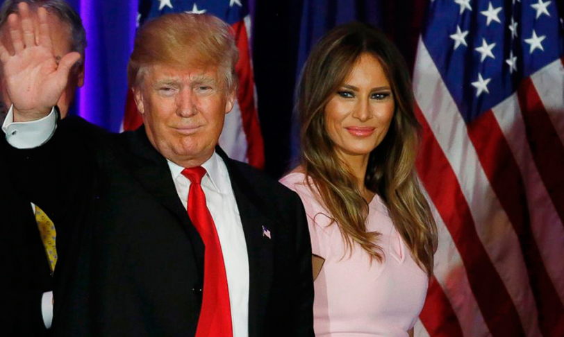 Video: Melania Trump le hace un desplante a Donald Trump en Israel