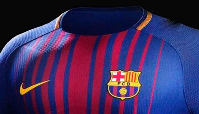 FC Barcelona presenta oficialmente su uniforme para la temporada 2017/2018