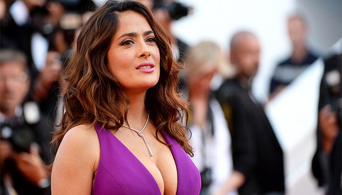 Fotos: Salma Hayek sorprende a todos con su nuevo look