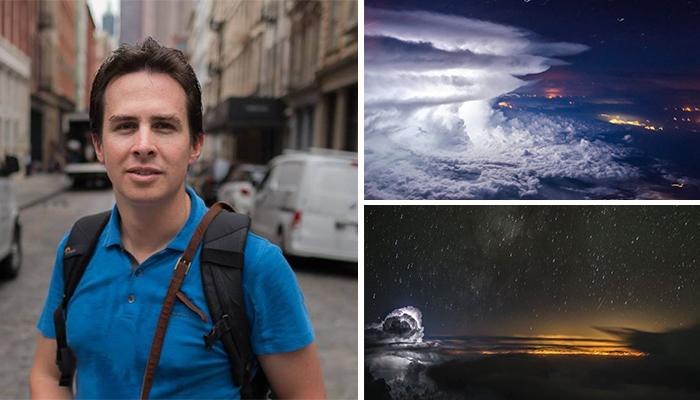 Piloto captura impresionantes fotos a 10 mil metros de altura