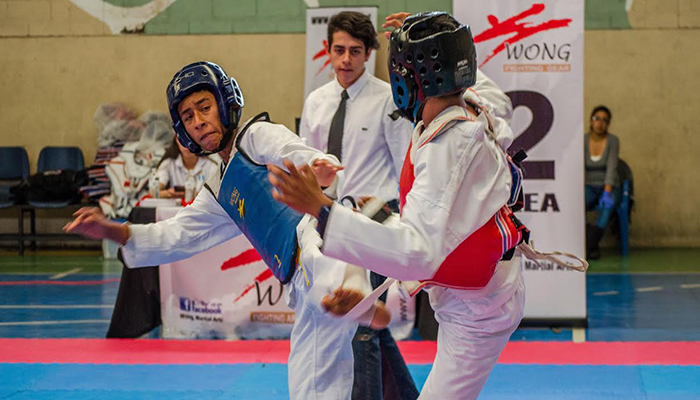 Jóvenes guatemaltecos brillan en Copas Internacionales de Taekwondo y Gimnasia