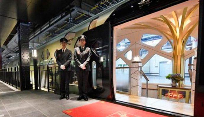 Fotos: Shiki-Shima, el tren más lujoso del mundo realizó su primer recorrido