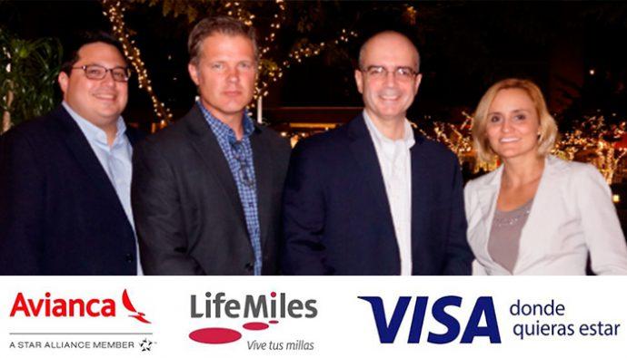 Lifemiles y Visa renuevan alianza estratégica por siete años