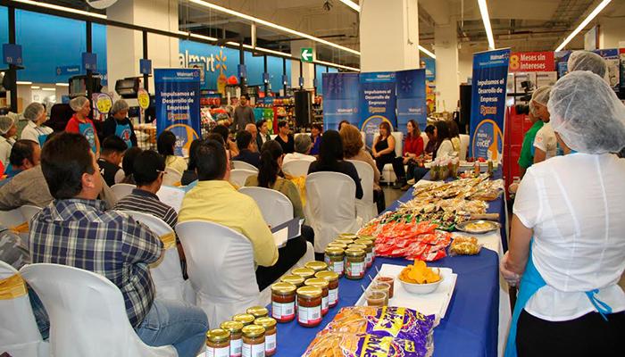 Walmart apoya el desarrollo de emprendedores con Ferias Pymes