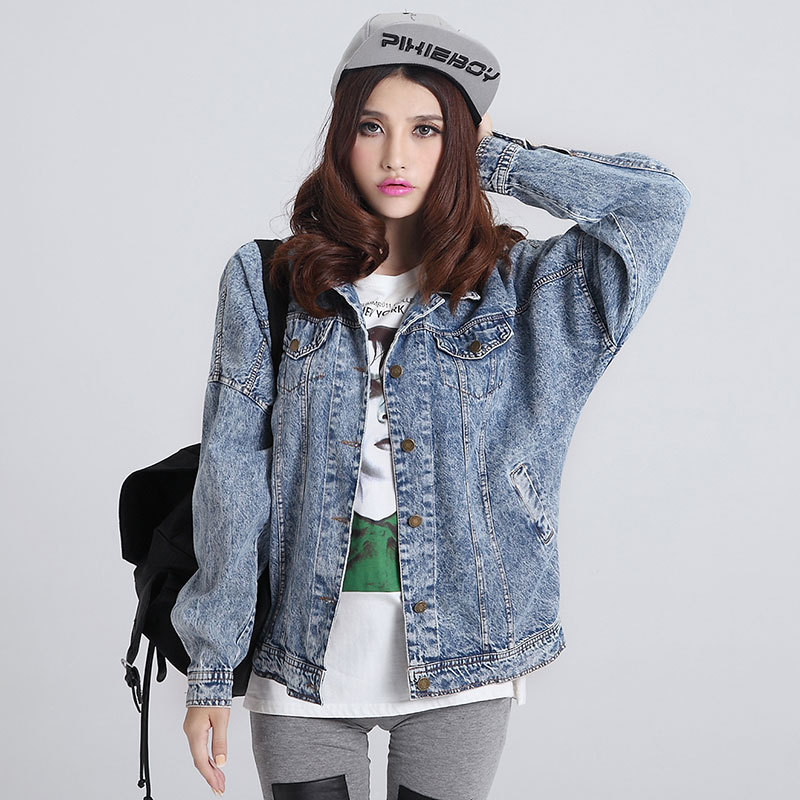 Fashion-font-b-Women-b-font-Jeans-font-b-Jacket-b-font-Ladies-Denim-Coat-Woman