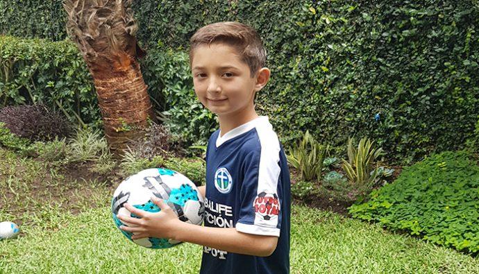Niño guatemalteco busca apoyo para lograr un sueño