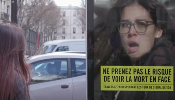 Video: Impresionante campaña enseña a peatones a valorar su vida