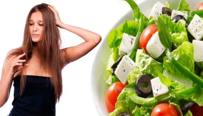 3 grupos de alimentos que ayudan a reparar tu cabello dañado