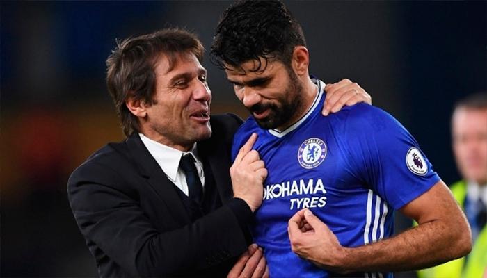 Conte despide a Diego Costa del Chelsea por medio de un mensaje de texto