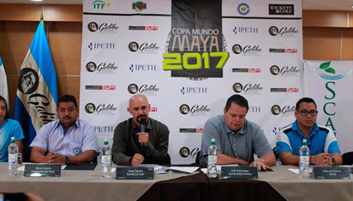 """Inicia el Torneo Internacional Juvenil de tenis """"Copa Mundo Maya 2017"""""""