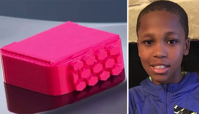 Niño inventa dispositivo para evitar que bebés mueran de calor en autos