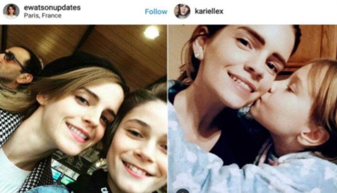 Internet enloquece con la doble de Emma Watson