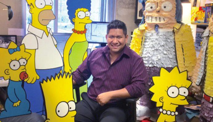 Animador de Los Simpson dará taller de animación en Guatemala