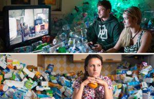 Fotógrafo acumuló basura de 4 años e impresiona con sus fotografías