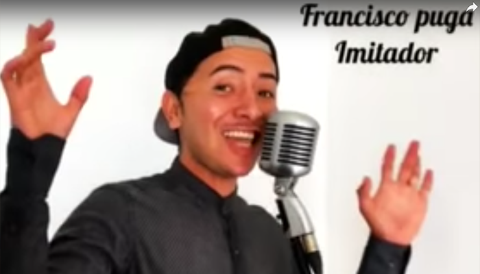 Video: Chico imita a 21 artistas cantando la canción