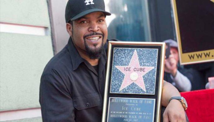 """Ice Cube recibe su estrella en el """"Paseo de la Fama de Hollywood"""""""