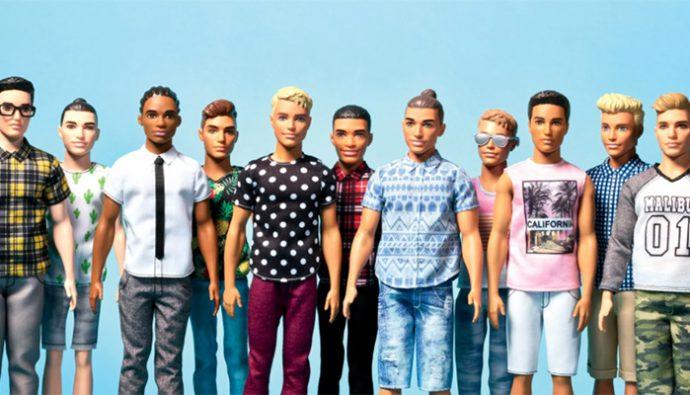 Después de 56 años los muñecos Ken tendrán un cambio de look