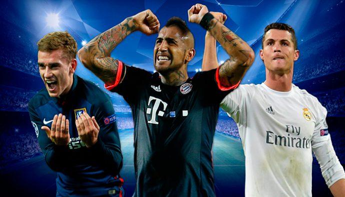 Los 18 mejores jugadores de la UEFA Champions League 2016/2017