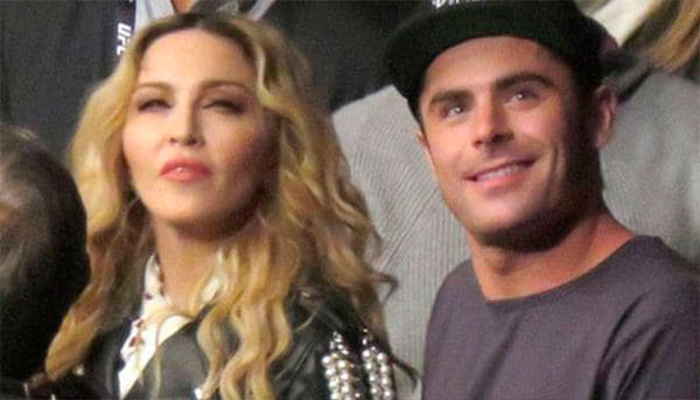 ¿Relación amorosa entre Zac Efron y Madonna?