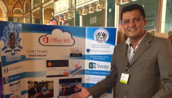 Profesor guatemalteco es reconocido a nivel global