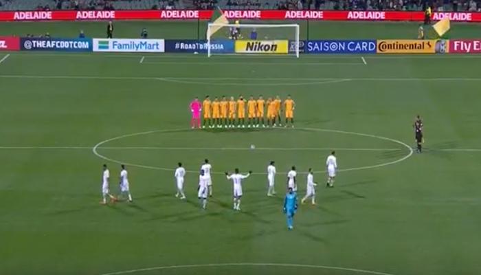 Selección de Arabia Saudita no respeta