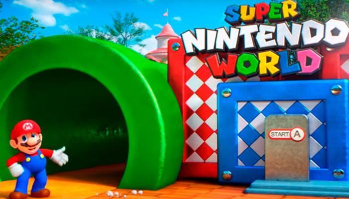 Publican video que muestra cómo será el parque temático de Mario Bros