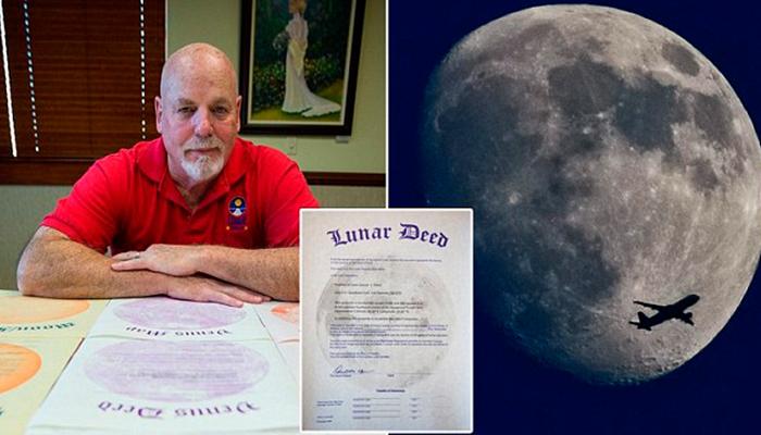 Empresario gana millones de dólares vendiendo terrenos en la Luna, Marte y Venus