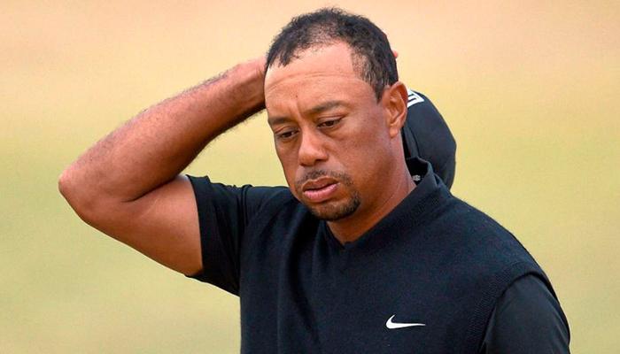 Policía difunde los videos del arresto de Tiger Woods