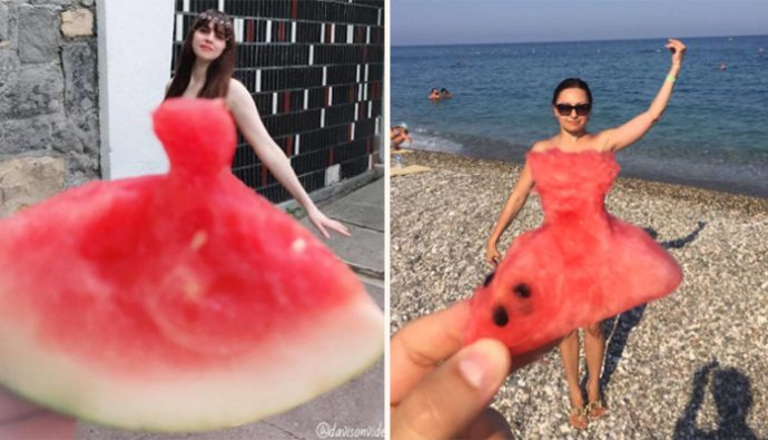 #WatermelonDress, nueva tendencia en Instagram