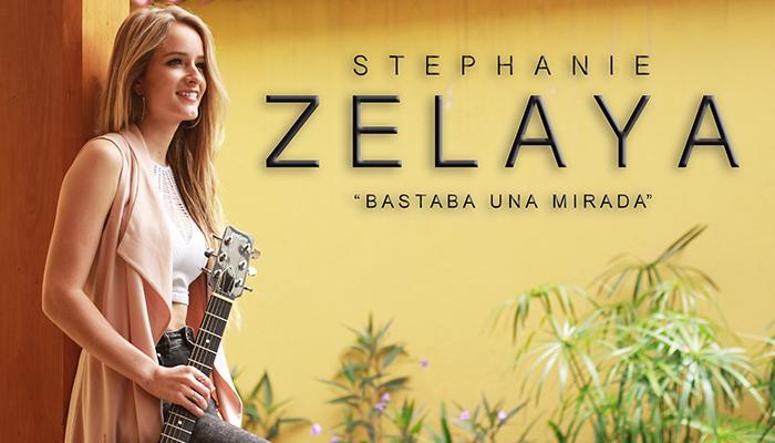 """Entrevista: Stephanie Zelaya presenta su canción """"Bastaba una mirada"""""""