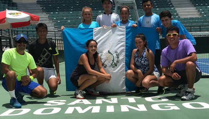 La selección de tenis Sub-14 de Guatemala lista para conquistar República Dominicana