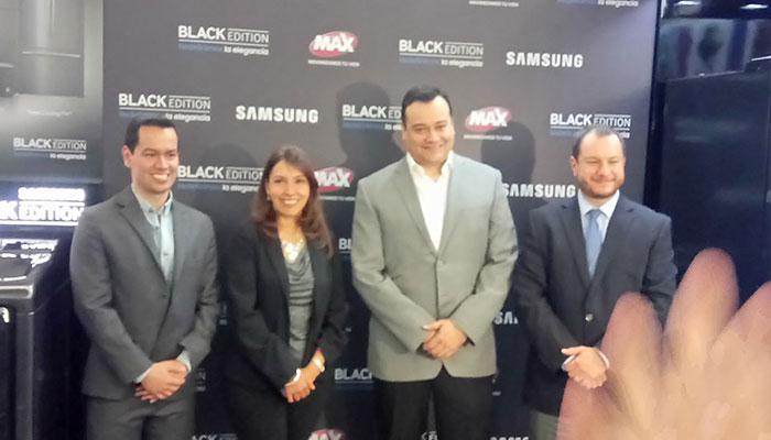 Black Edition de Samsung llega a Tiendas Max