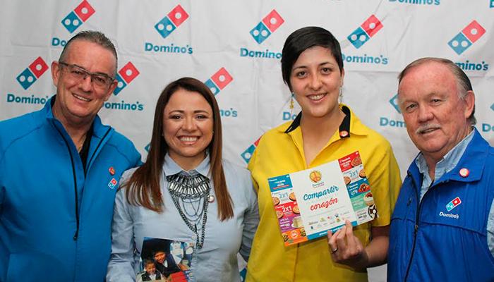 Domino's lanza cuponera Pizza N'Love para ayudar a los más necesitados