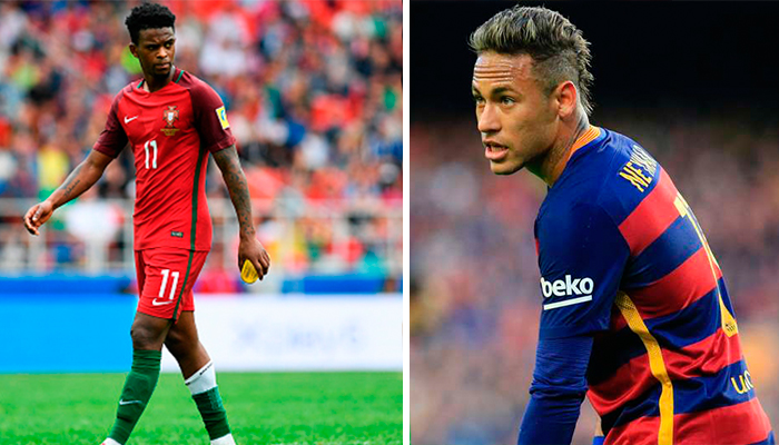 Video: Neymar llega casi a los golpes con Semedo
