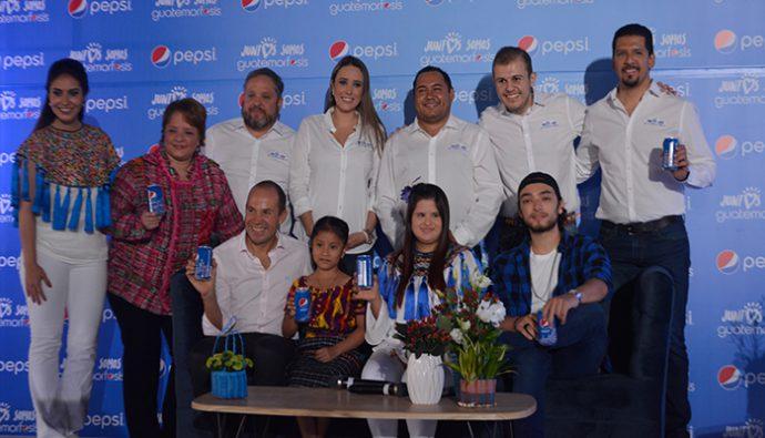 """Pepsi lanza su nueva campaña """"Juntos somos guatemorfosis"""""""
