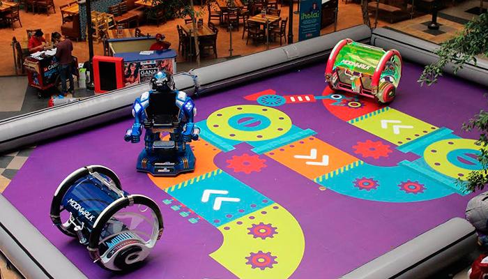 Los Ultrabots llegan al Centro Comercial Portales