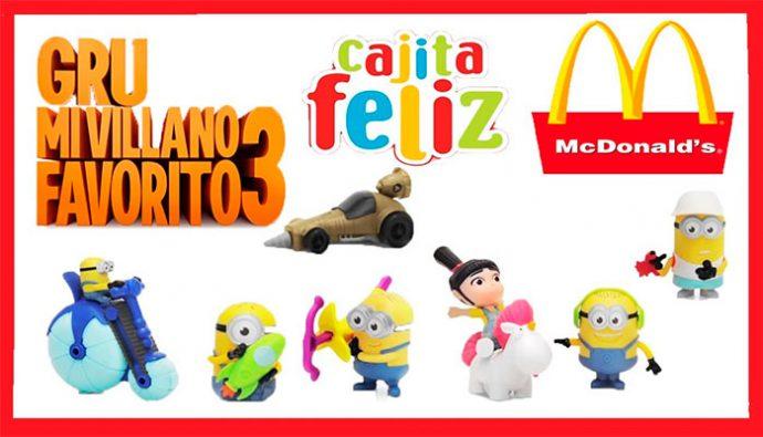 Mi Villano Favorito 3 llega a McDonald's