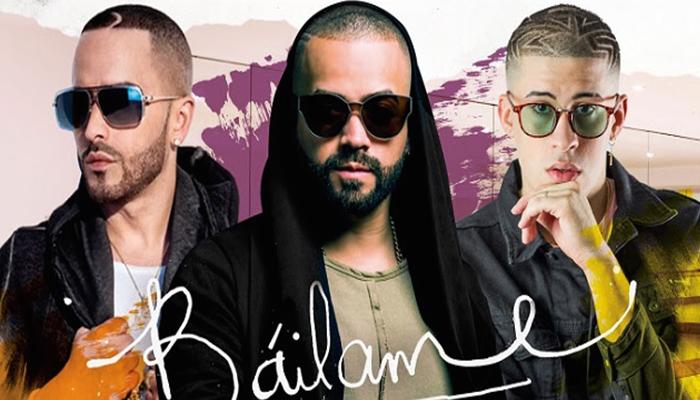 """Nacho junto a Yandel y Bad Bunny lanzan remix de su canción """"Báilame"""""""