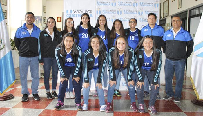 Guatemaltecas van detrás del título Centroamericano Sub 18 de Voleibol de Sala