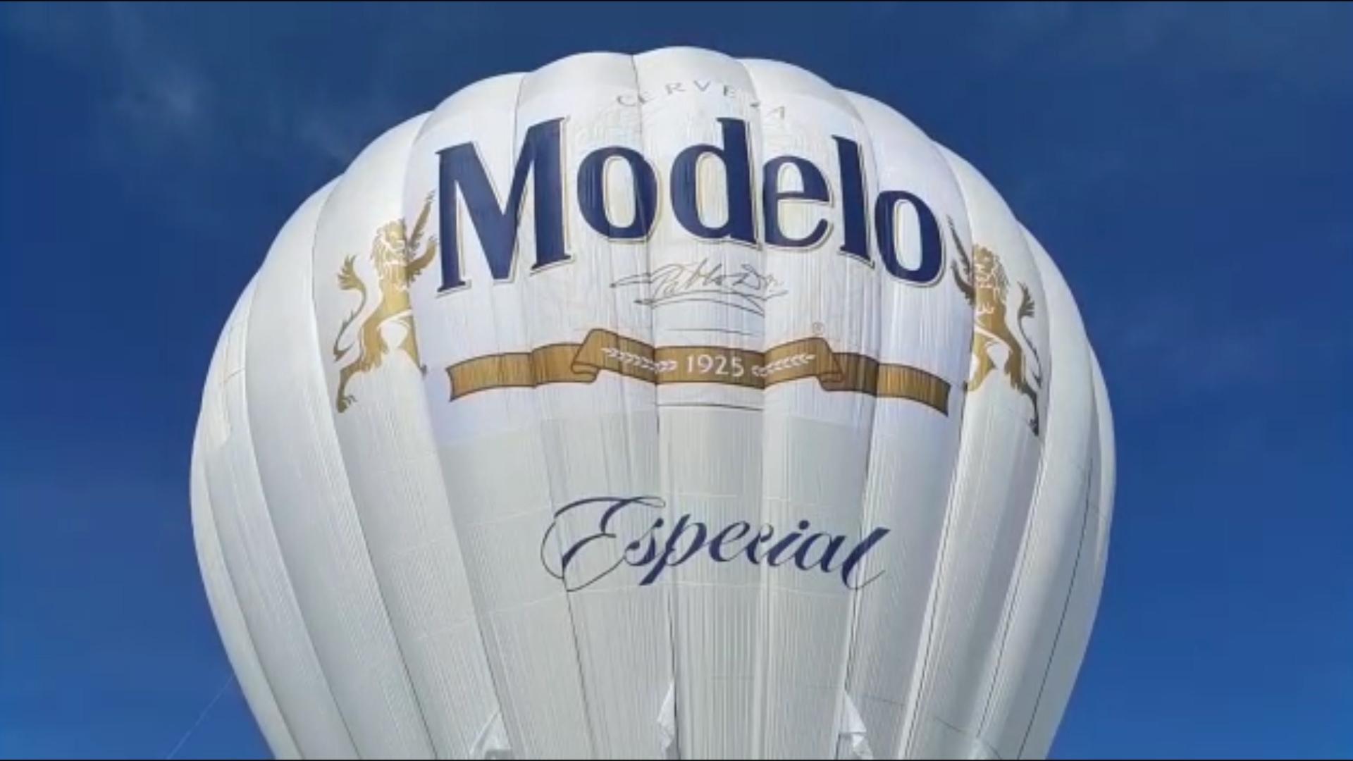Cerveza Modelo te invita a disfrutar de un ascenso en globo aerostático