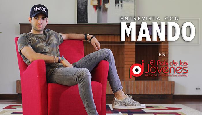 """Entrevista: Mando presenta su nueva canción """"Me despido"""""""
