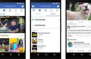 Watch, plataforma de Facebook que busca competir con Youtube
