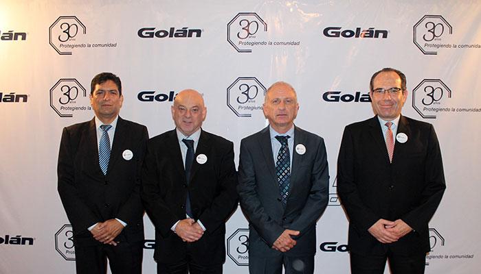 """Golán celebra 30 años presentando resultados del programa """"Protejo Mi Comunidad"""""""