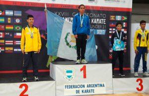 Pedropablo De La Roca se posiciona bicampeón panamericano en Argentina